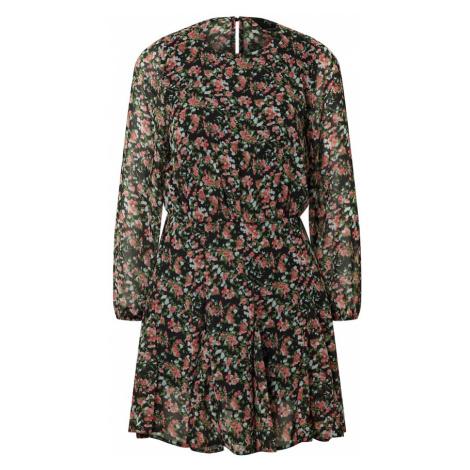 AX Paris Šaty 'Dress' černá / hnědá
