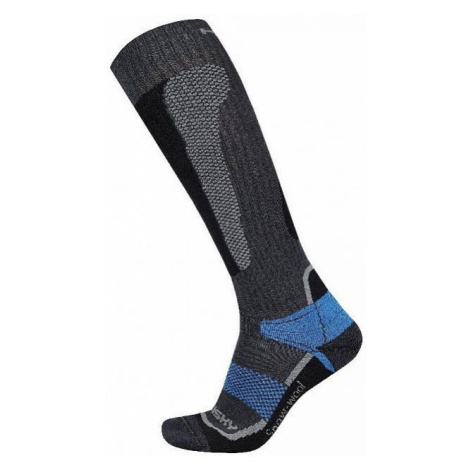 Ponožky HUSKY Snow Wool modrá XL (45-48 EU)