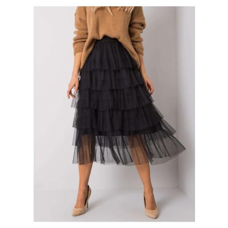 OCH BELLA Black tulle skirt Fashionhunters
