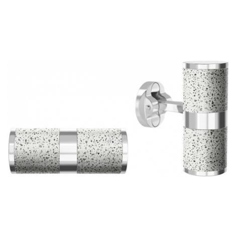 Manžetové knoflíčky Unity – světle šedá – stříbro Gravelli