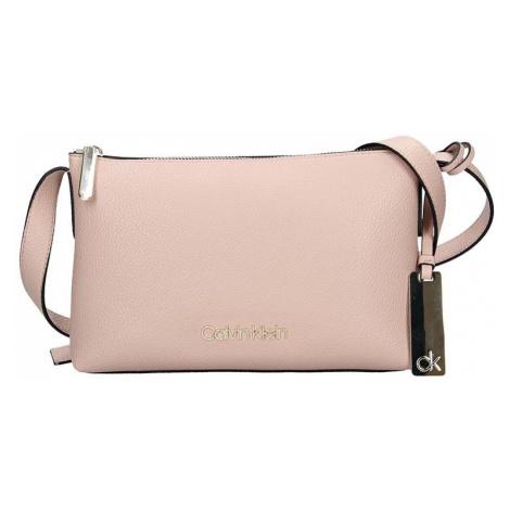 Dámská crossbody kabelka Calvin Klein Gweny - růžová