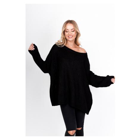 Široký dámský svetr typu - oversize - SoSimply one size