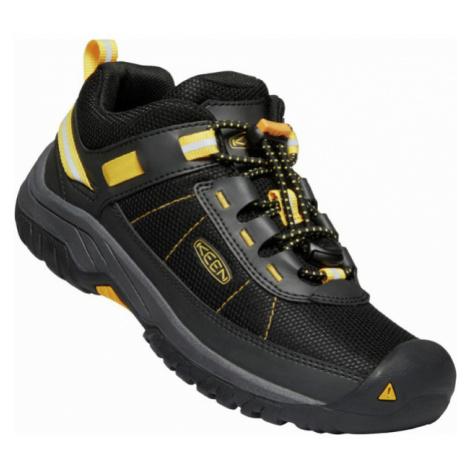 KEEN TARGHEE SPORT C Dětská treková obuv 10012234KEN01 black/keen yellow