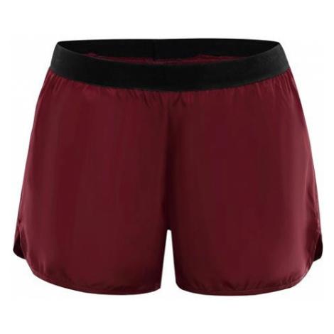 Hinata červená dámské kalhoty ALPINE PRO