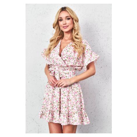 Šaty s květovaným vzorem 3475