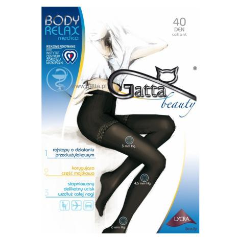BODY RELAXMEDICA - Dámské punčochové kalhoty, 40 DEN - GATTA šedá