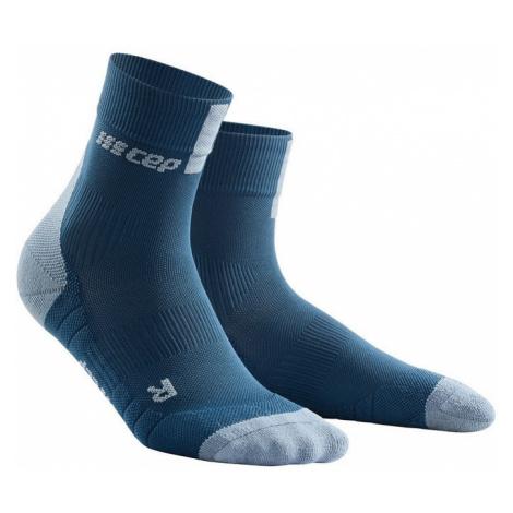 Pánské kompresní ponožky CEP 3.0 modro-šedé