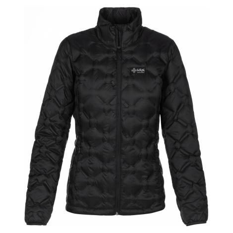 KILPI Dámská péřová bunda - větší velikosti PAPILON-W LLX010KIBLK Černá
