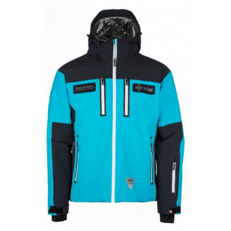 KILPI Pánská lyžařská bunda TEAM JACKET-M JM0004KIBLK Černá