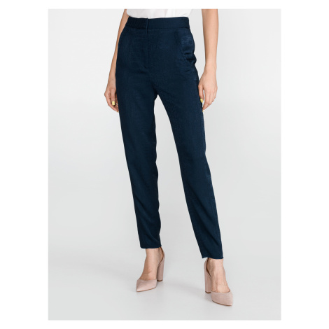 Kalhoty Just Cavalli Modrá