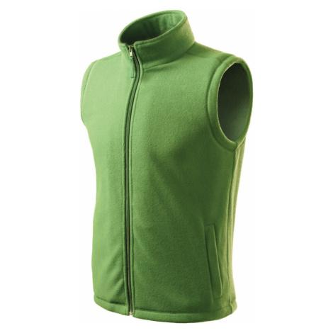 RIMECK Next Unisex fleece vesta 51839 trávově zelená