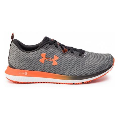Pánská obuv Under Armour Micro G Blur - černá/oranžová