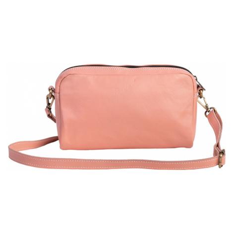 Bagind Mala Flamingo - Dámská kožená crossbody kabelka růžová, ruční výroba, český design