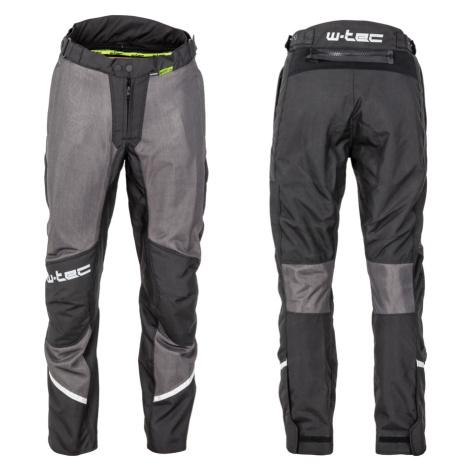 Pánské Letní Moto Kalhoty W-Tec Alquizar Black-Grey