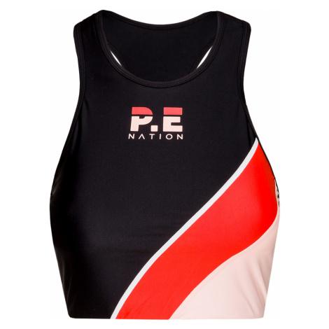 Sportovní top P.E Nation ASPENDOS multicolor|černá