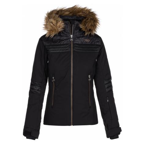 KILPI Dámská lyžařská bunda - větší velikosti HENESIE-W LLX023KIBLK Černá