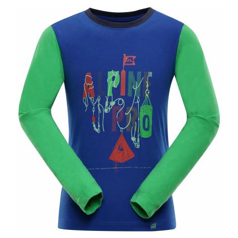 Dětské triko Alpine Pro TOWERO 2 - modrá