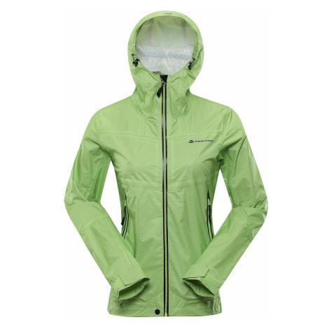 Dámská bunda Alpine Pro SLOCANA 4 - světle zelená