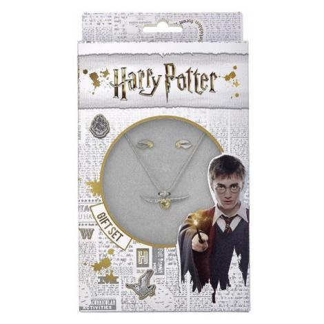 Náhrdelník a náušnice Harry Potter - Zlatonka