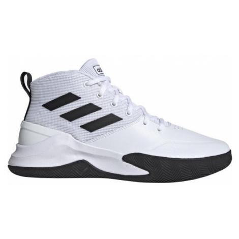 adidas OWNTHEGAME bílá 12.5 - Pánská basketbalová obuv