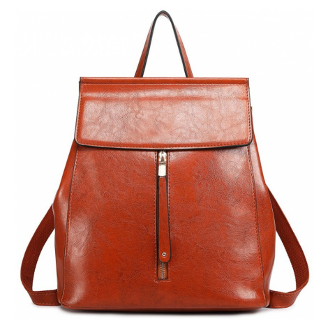 Hnědý dámský stylový batoh Jillen Lulu Bags