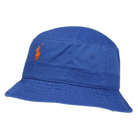 POLO RALPH LAUREN Klobouk královská modrá / oranžově červená