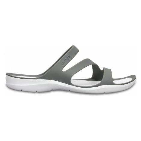 Crocs Swiftwater Sandal W - Smoke/White W5