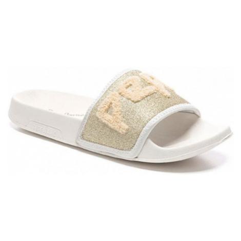 Pepe Jeans Pepe Jeans dámské zlaté pantofle Slider Towi
