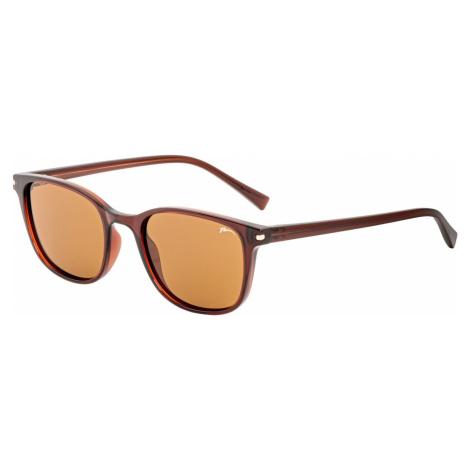 Dětské sluneční brýle RELAX Kish hnědé