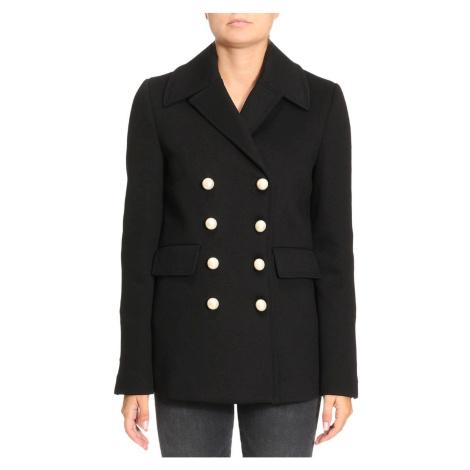 Černý krátký kabát PINKO