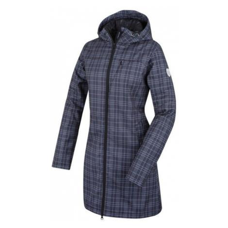 Dámský softshell kabát Alpine Pro ASHERAH - černá-kostka