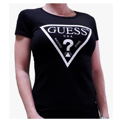 Dámské triko Guess O94I02 černá | černá