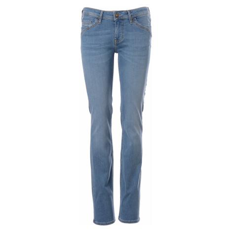 Mustang jeans Jasmin Slim S&P dámské modré