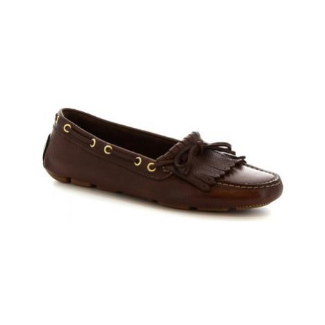 Leonardo Shoes 7680 MOUSSE TESTA DI MORO Hnědá