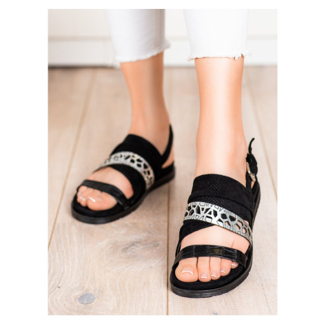 EVENTO FASHIONABLE SANDALS WITH BUCKLE