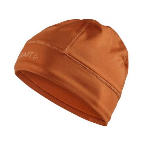 Čepice CRAFT CORE Essence Thermal oranžová