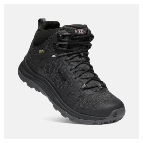 Dámské boty Keen Terradora II Mid WP W black/magnet UK