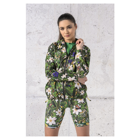 Nessi Sportswear Bunda s Membránou 20K KKD-13W1 Wild Flowers