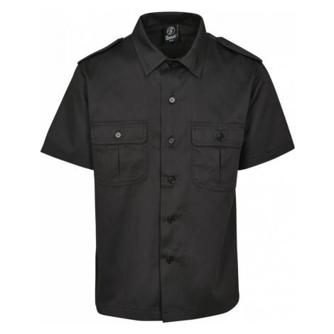 Short Sleeves US Shirt - black Urban Classics