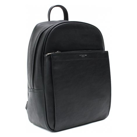 Černý moderní pánský zipový batoh Raoul Tapple
