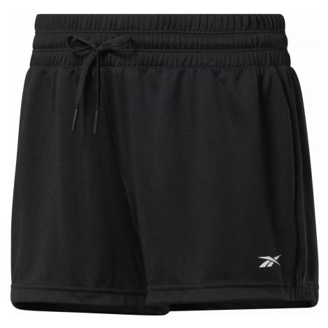 Dámské šortky Reebok Workout Ready Černá / Bílá