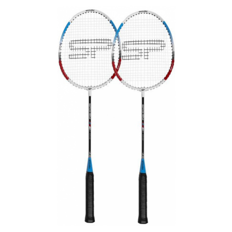 Spokey FIT ONE II Sada na badminton - 2 rakety Barva: modrá