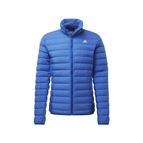 Adidas Bunda Varilite Soft Down Modrá