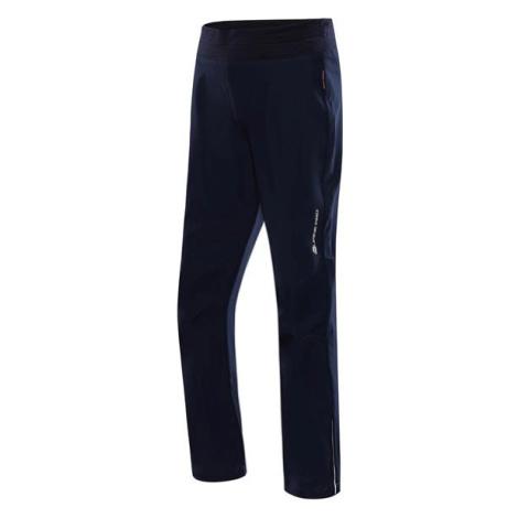 Ocio ins. Modrá dětské softshellové kalhoty ALPINE PRO