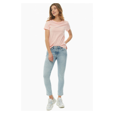 Calvin Klein dámské modré džíny Ankle