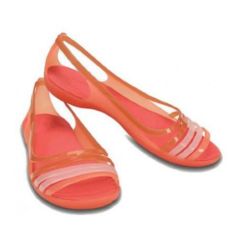 Crocs isabella - oranžová