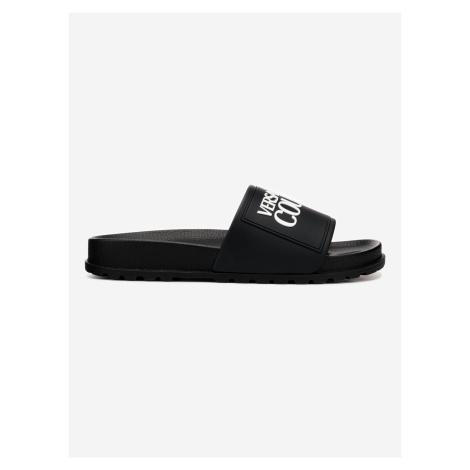 Pantofle Versace Jeans Couture Černá