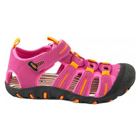 Růžové dívčí sportovní sandály Paolo Pidilidi