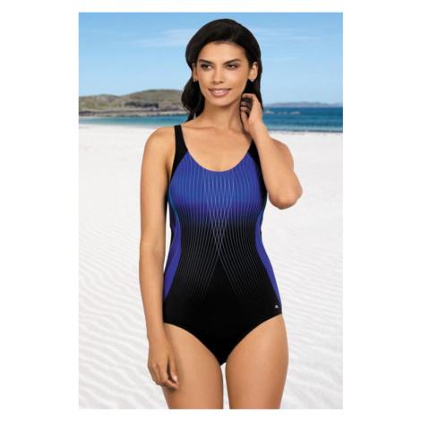 Jednodílné sportovní plavky Anika tmavě modré Self