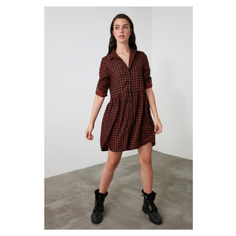 Trendyol Tile Shirt Dress
